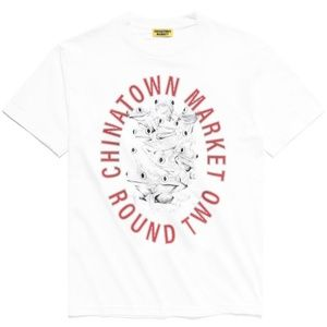 Chinatown market x Round Two Color changing tee